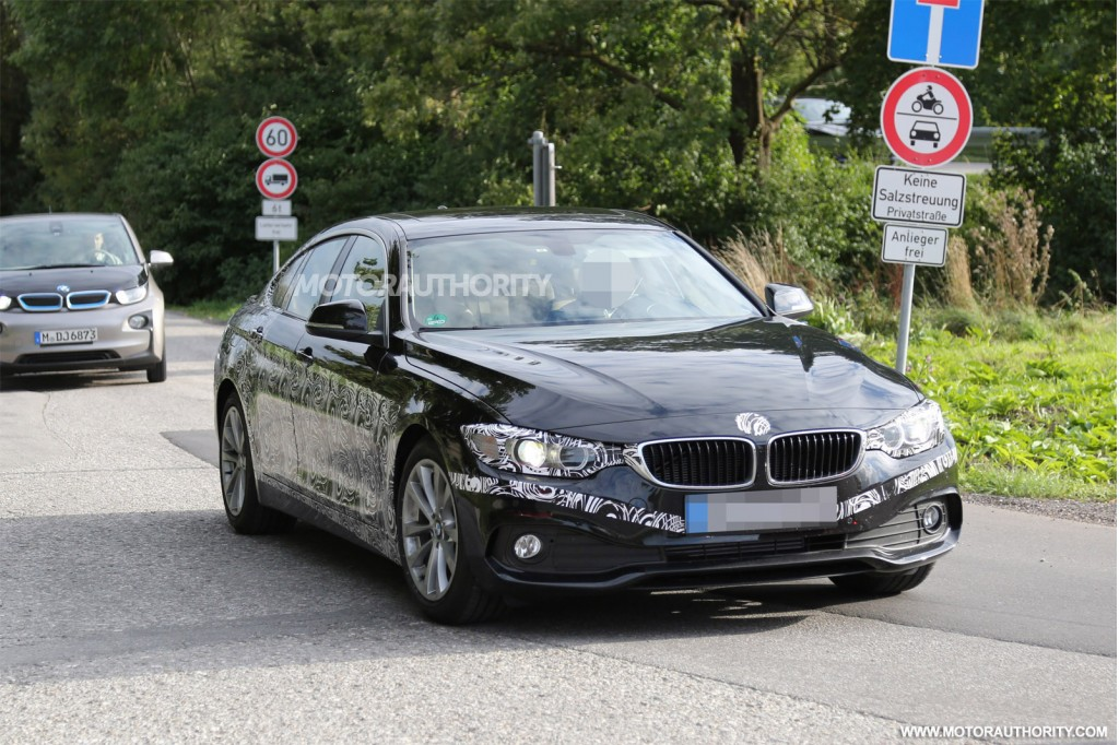 2015 BMW 4Series Gran Coupe spy shots