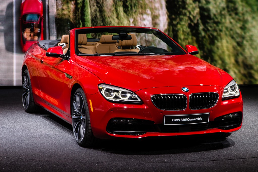 2016 bmw 6 series debuts at detroit auto show live photos video. Black Bedroom Furniture Sets. Home Design Ideas