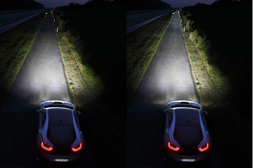 BMW Is First With Laser Lights As The 2015 i8 Enters Production