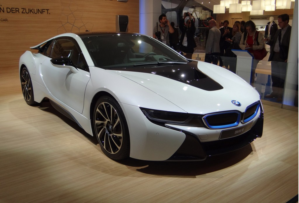 2015 Bmw I8 To Feature World S First Laser Headlights