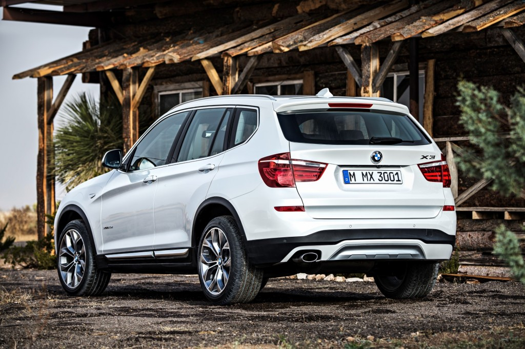 2015 bmw x3 crossover adds diesel awd model other updates. Black Bedroom Furniture Sets. Home Design Ideas