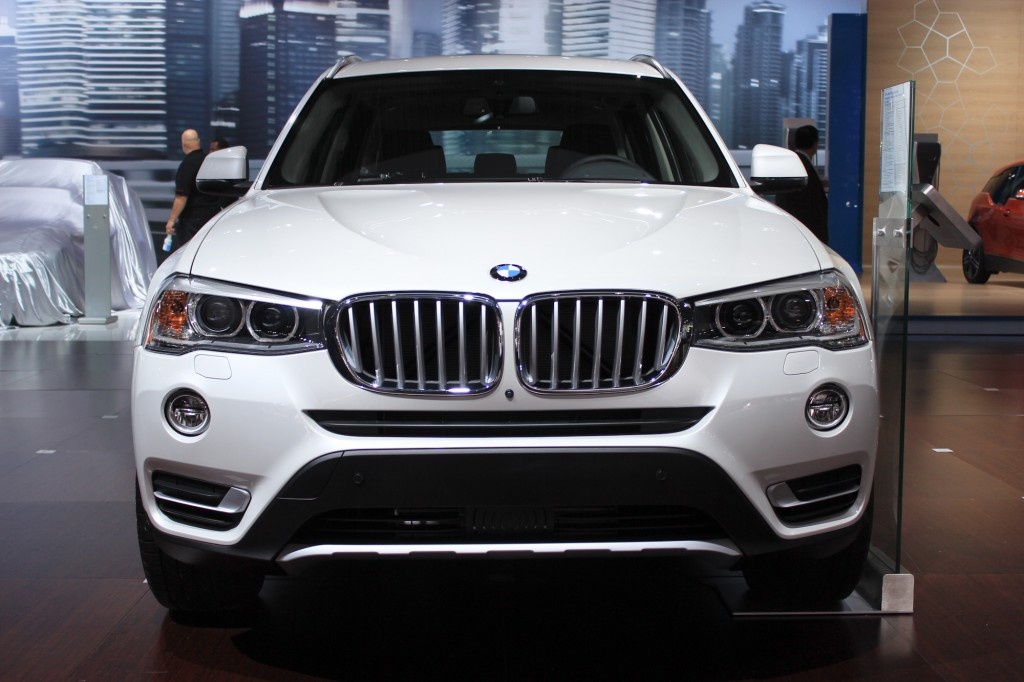 2015 bmw x3 live from the 2014 new york auto show. Black Bedroom Furniture Sets. Home Design Ideas