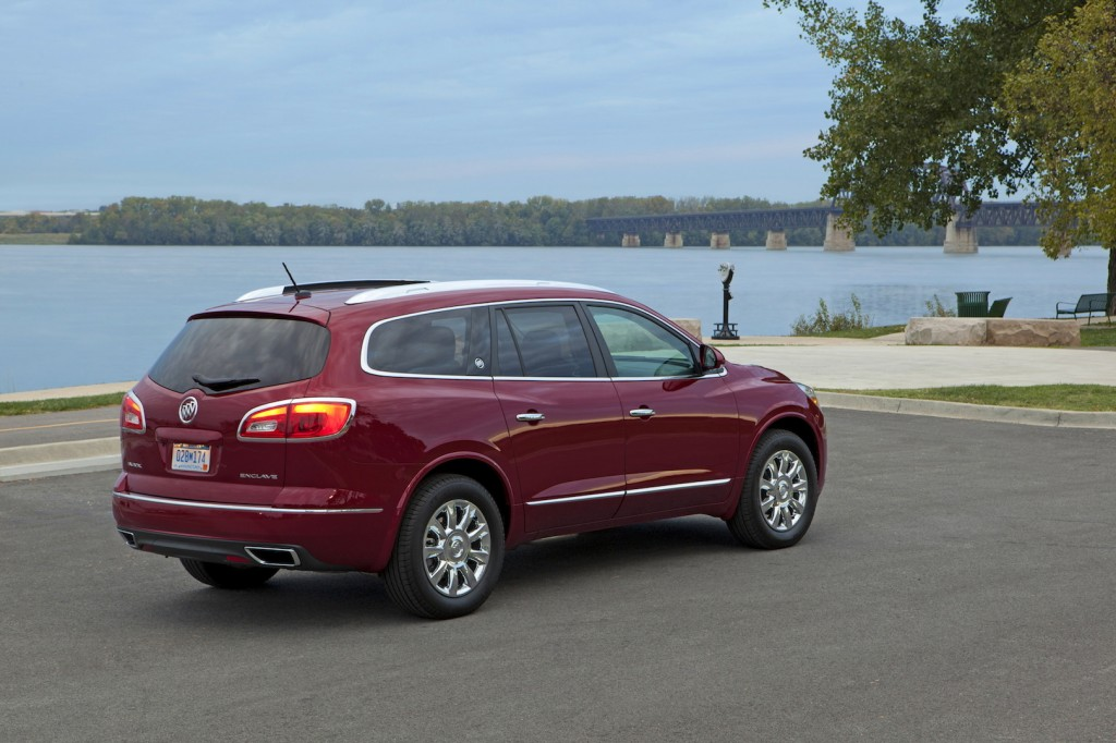 2015 buick enclave pictures photos gallery motorauthority. Black Bedroom Furniture Sets. Home Design Ideas