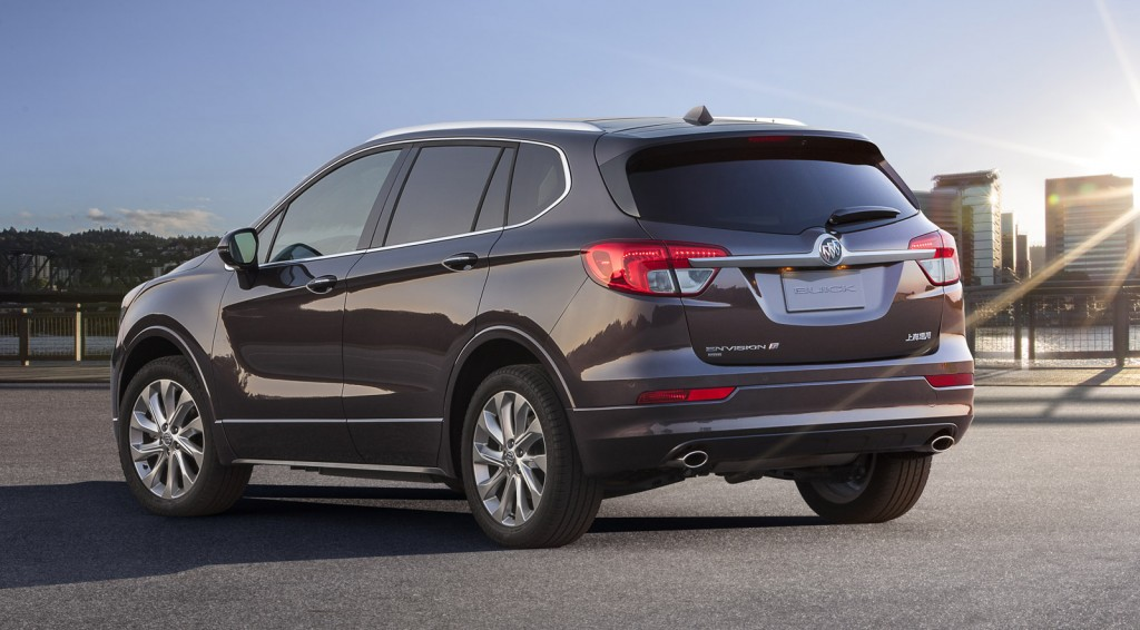 2015 Buick Envision Revealed In Full At Chengdu Auto Show