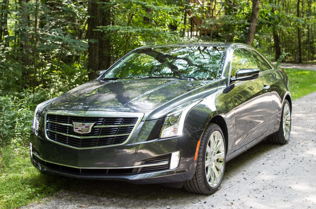 2015 cadillac ats coupe first drive video. Black Bedroom Furniture Sets. Home Design Ideas