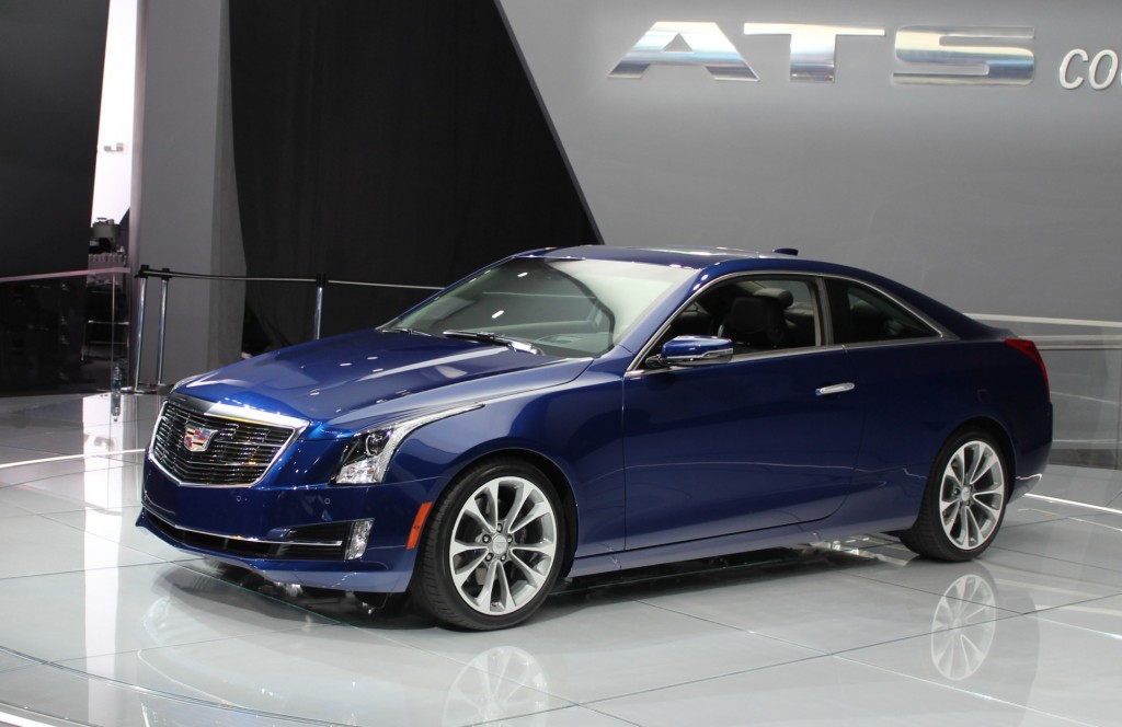 2015 Cadillac Ats Coupe Revealed Live Photos Amp Video