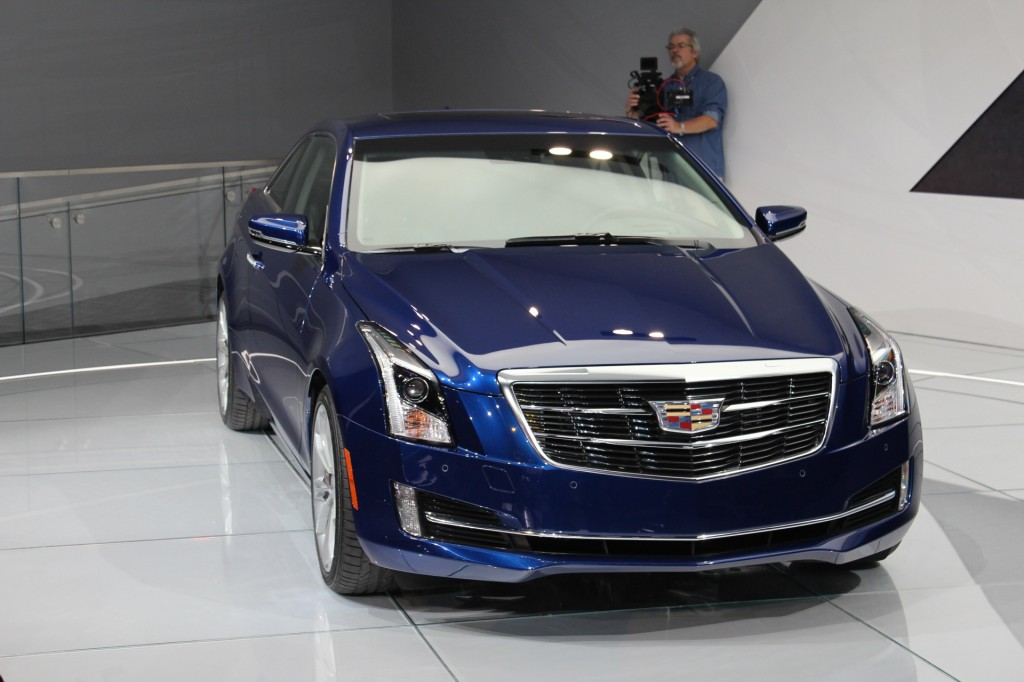 2015 cadillac ats coupe revealed live photos video. Black Bedroom Furniture Sets. Home Design Ideas
