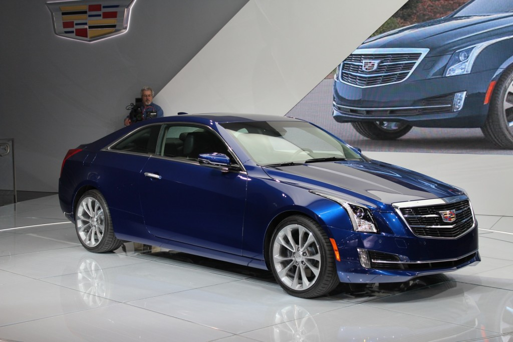 2015 cadillac ats pictures photos gallery green car reports. Black Bedroom Furniture Sets. Home Design Ideas