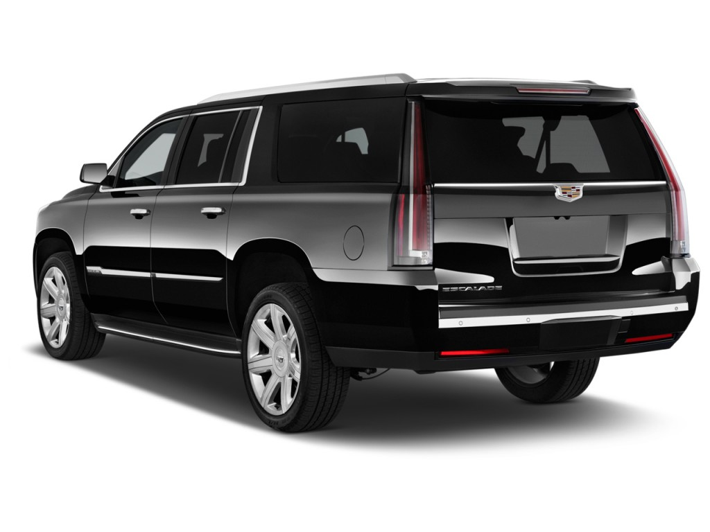 2015 cadillac escalade esv 2wd 4 door luxury angular rear exterior. Cars Review. Best American Auto & Cars Review