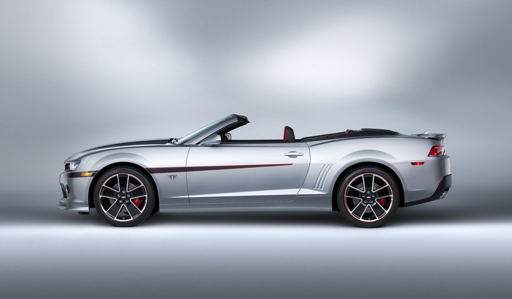 2015 chevrolet camaro commemorative edition rolls into sema. Cars Review. Best American Auto & Cars Review
