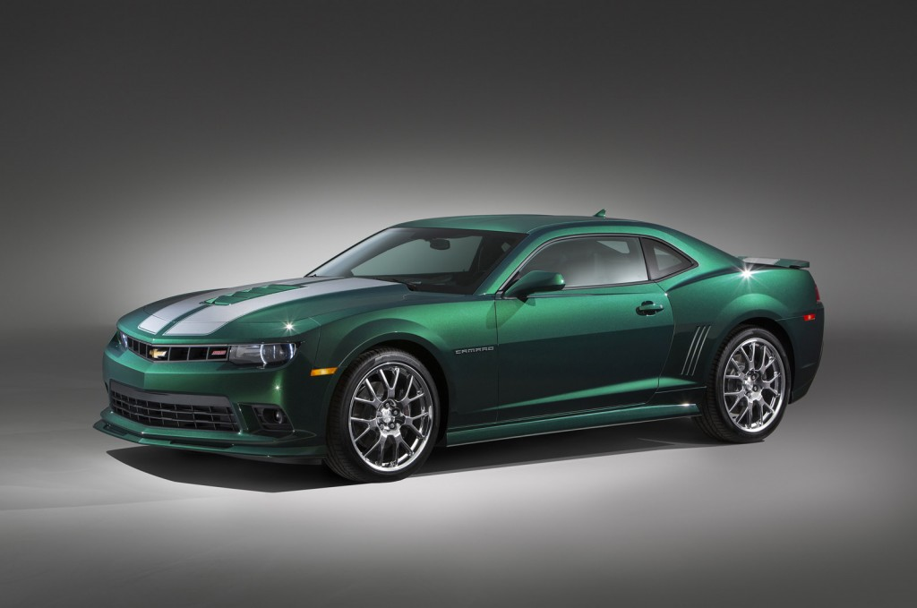 chevy picks green flash name for latest camaro special edition. Black Bedroom Furniture Sets. Home Design Ideas