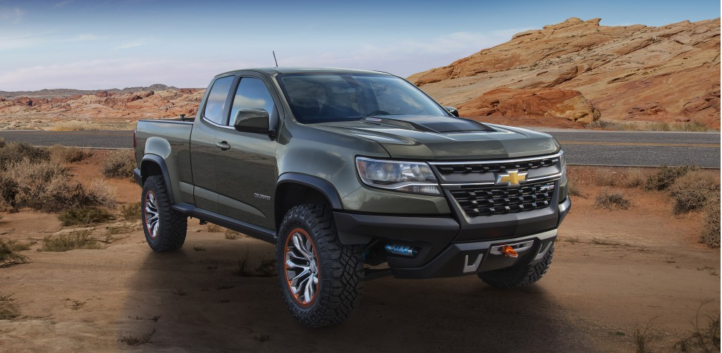 2016 chevy colorado diesel specs and zr2 off road concept from 2014 la auto show. Black Bedroom Furniture Sets. Home Design Ideas