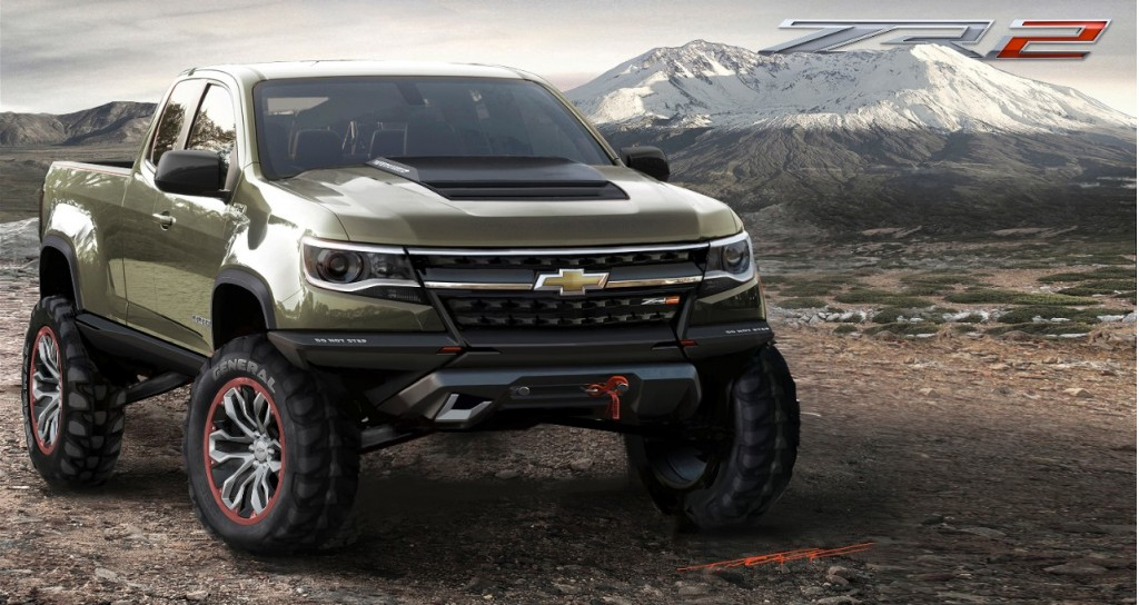 2016 Chevy Colorado Diesel: Specs And ZR2 Off-Road Concept From 2014 ...