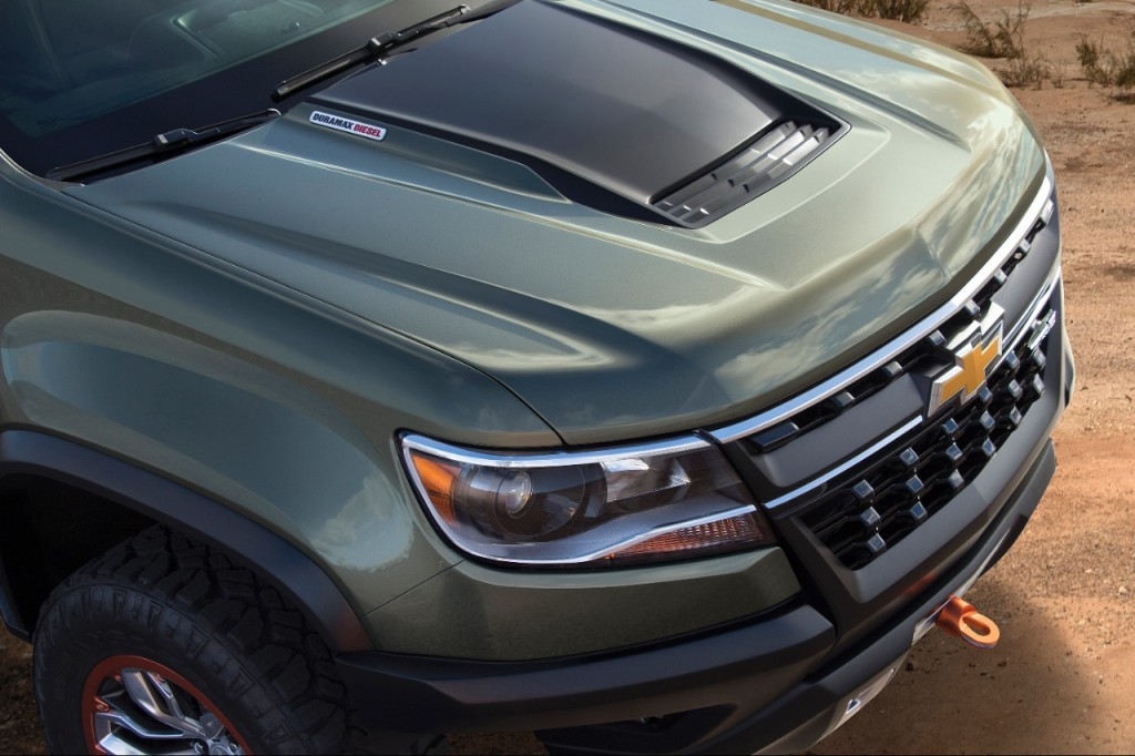 2015 Chevy Colorado ZR2 Concept