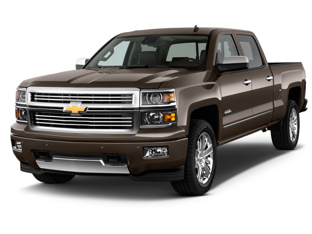 2015 Chevrolet Silverado 1500 2WD Crew Cab 143.5quot; High Country Angular