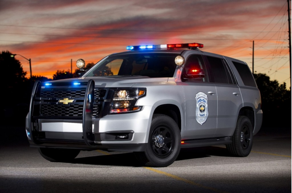 2015 Chevrolet Tahoe PPV Is Ready To Fight Crime