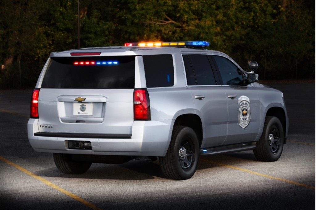 2015 chevrolet tahoe ppv is ready to fight crime. Black Bedroom Furniture Sets. Home Design Ideas