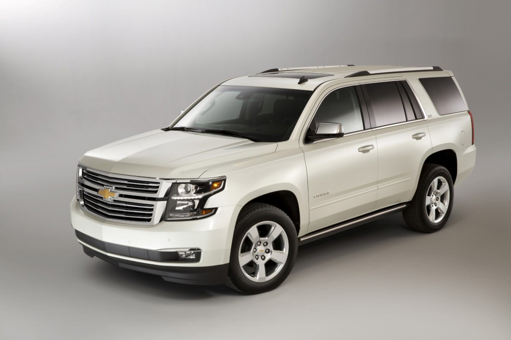 2015 Chevrolet Tahoe - Photo Gallery