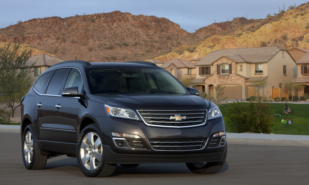2015 chevrolet traverse chevy pictures photos gallery green car reports. Black Bedroom Furniture Sets. Home Design Ideas