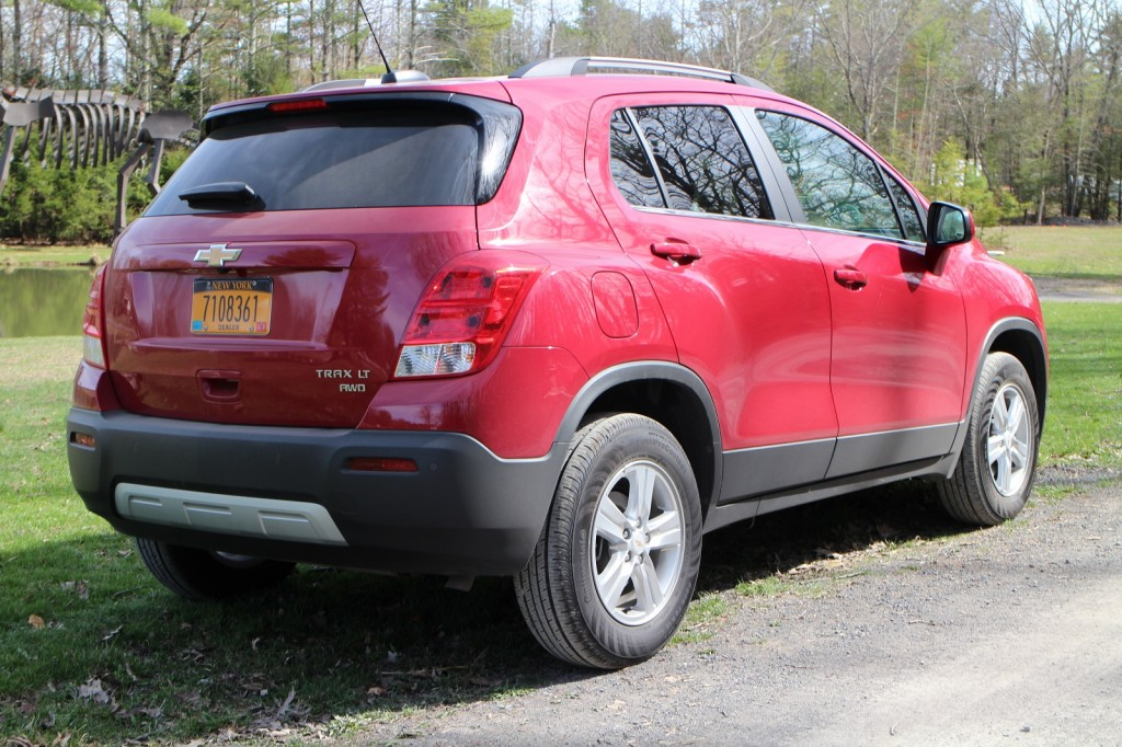 2015 chevrolet trax gas mileage review of small suv. Black Bedroom Furniture Sets. Home Design Ideas