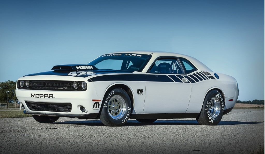 2015 Dodge Challenger Drag Pak Revealed Now Available