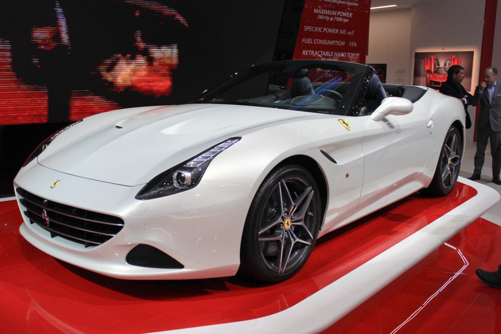 2015 ferrari california t live photos and video from geneva debut. Black Bedroom Furniture Sets. Home Design Ideas