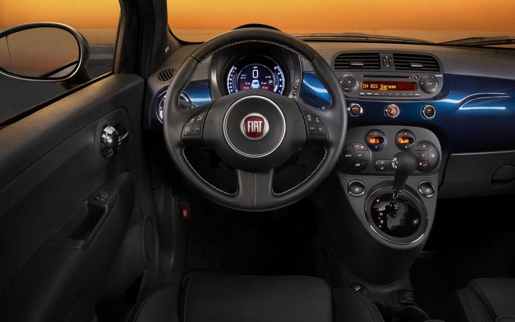 2015 Fiat 500 Updated With New Instrument Cluster Display