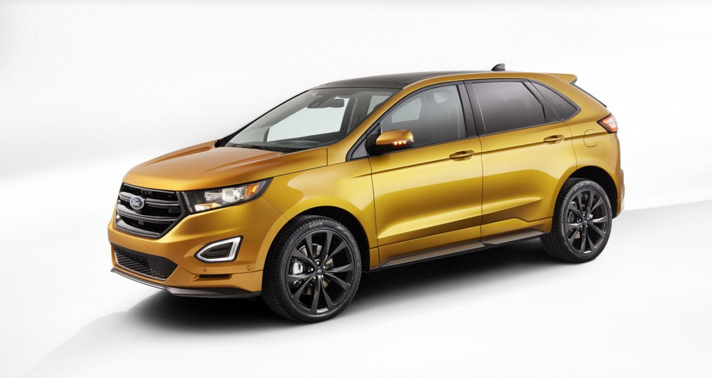 2015 Ford Edge Revealed, Comes Standard With EcoBoost: Video