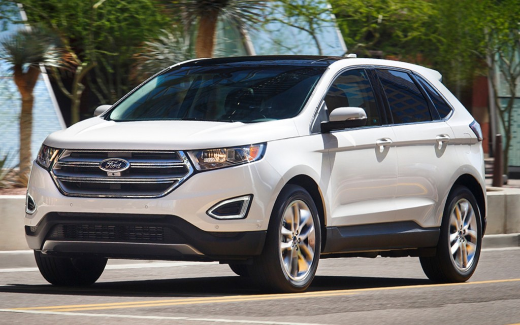 2015 ford edge earns five star federal safety rating. Black Bedroom Furniture Sets. Home Design Ideas