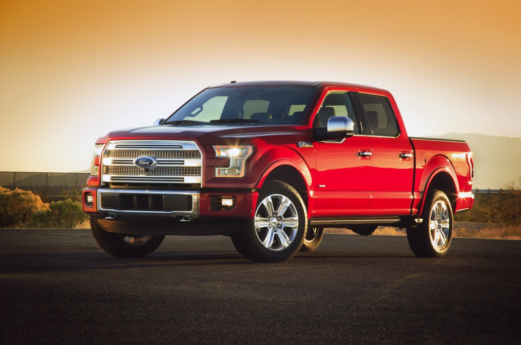 2015 ford f 150 first look details for radically new truck. Black Bedroom Furniture Sets. Home Design Ideas