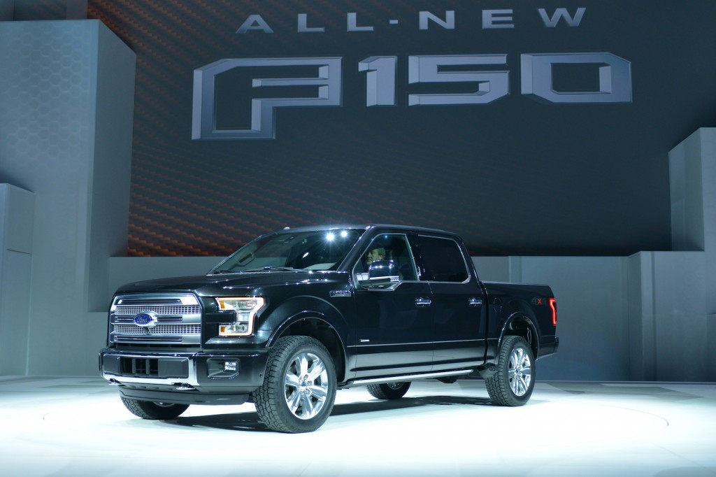 2015 ford f 150 details live photos video 2 7 liter. Black Bedroom Furniture Sets. Home Design Ideas