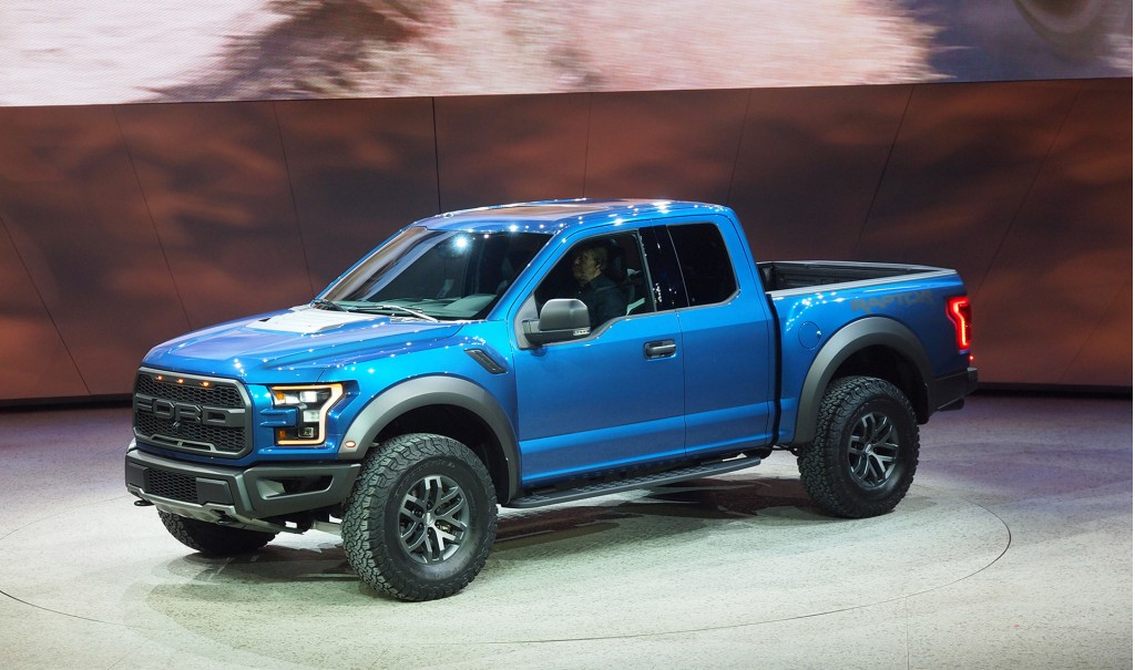 2017 ford f 150 raptor 2015 detroit auto show. Black Bedroom Furniture Sets. Home Design Ideas