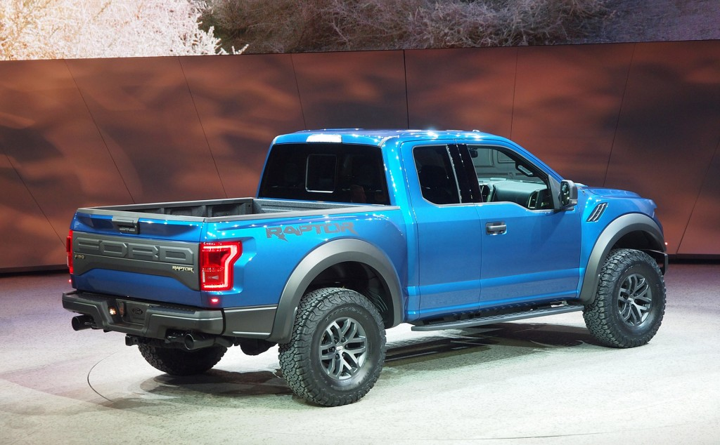 image 2017 ford f 150 raptor 2015 detroit auto show. Cars Review. Best American Auto & Cars Review