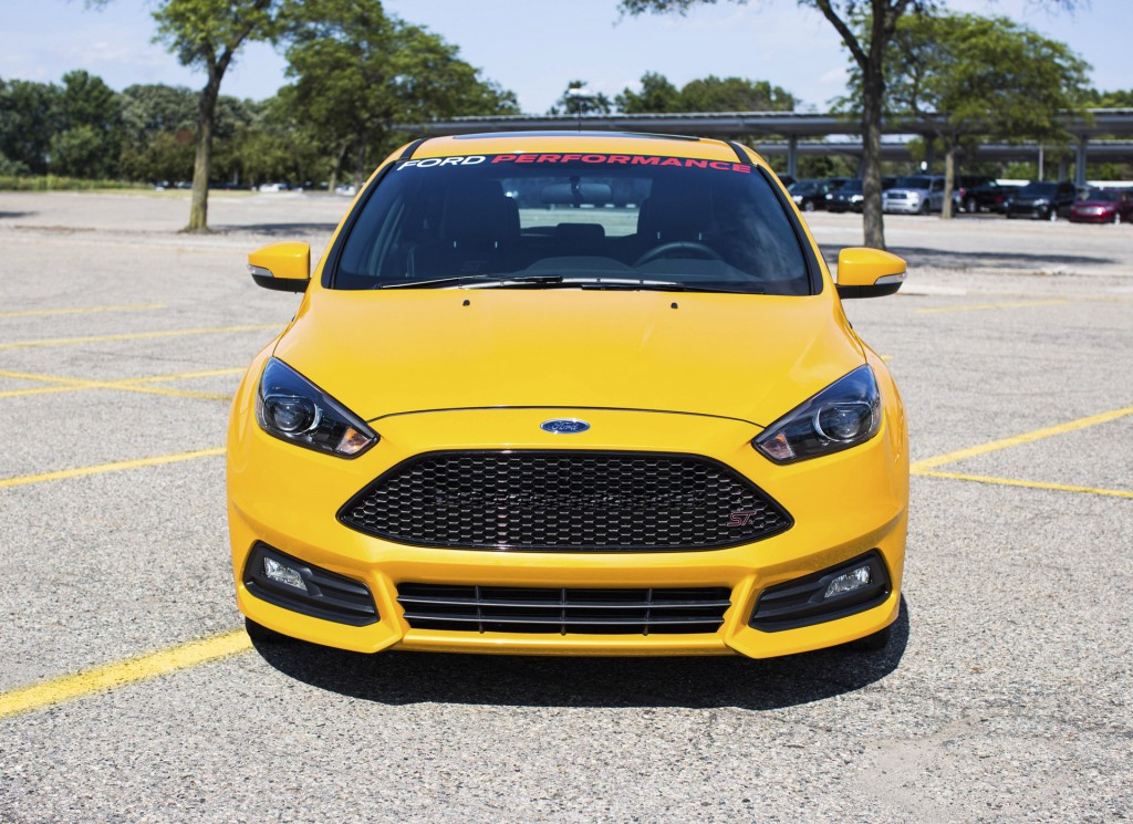 image 2015 ford focus st equipped with ford performance upgrades. Cars Review. Best American Auto & Cars Review