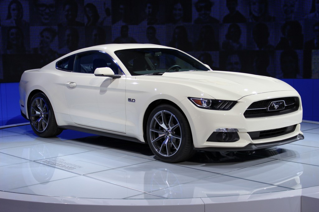 2015 Ford Mustang 50 Year Limited Edition,  New York Auto Show