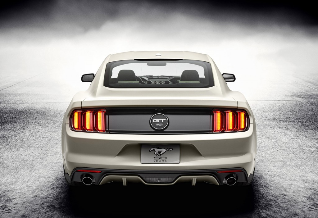 2015 Ford Mustang 50 Year Limited Edition Debuts At 2014 New York Auto ...