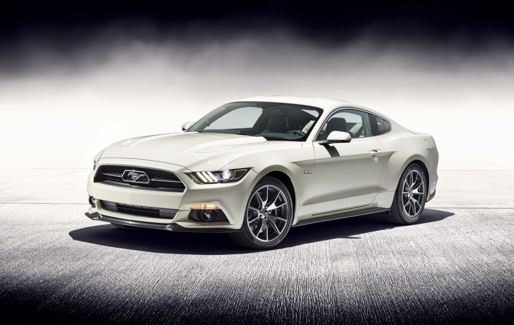 final 2015 ford mustang 50 year limited edition headed for auction. Black Bedroom Furniture Sets. Home Design Ideas
