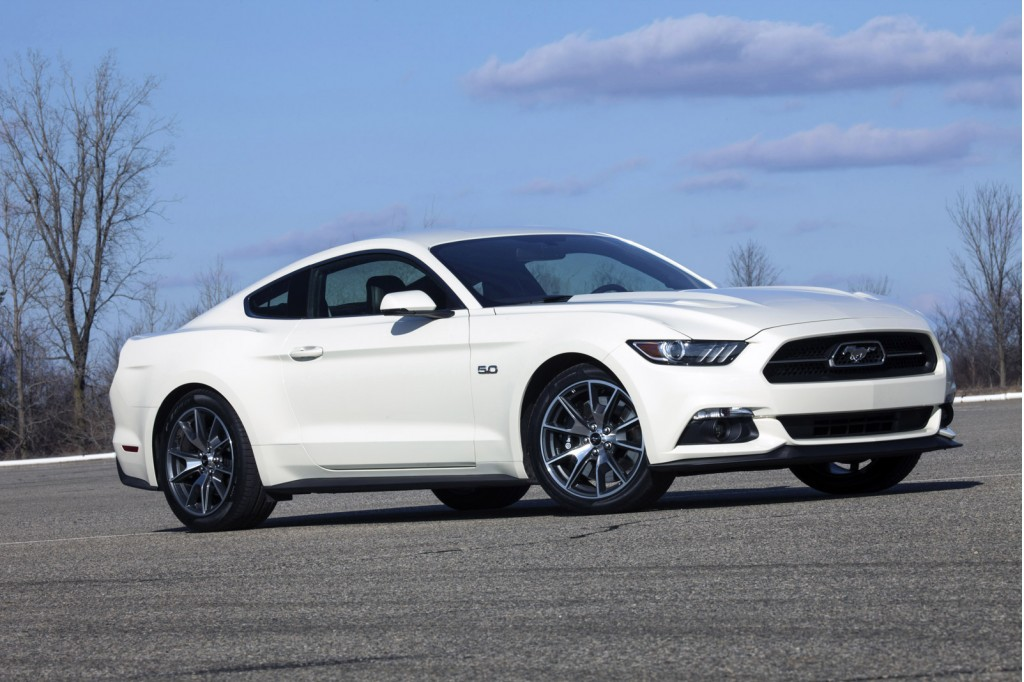 2015 ford mustang 50 year limited edition debuts at 2014. Black Bedroom Furniture Sets. Home Design Ideas