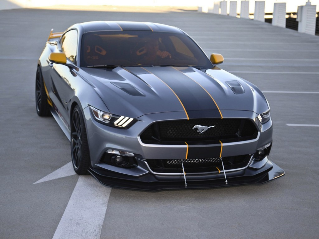 2015 ford mustang inspired by f 35 jet revealed at 2014 eaa airventure. Black Bedroom Furniture Sets. Home Design Ideas
