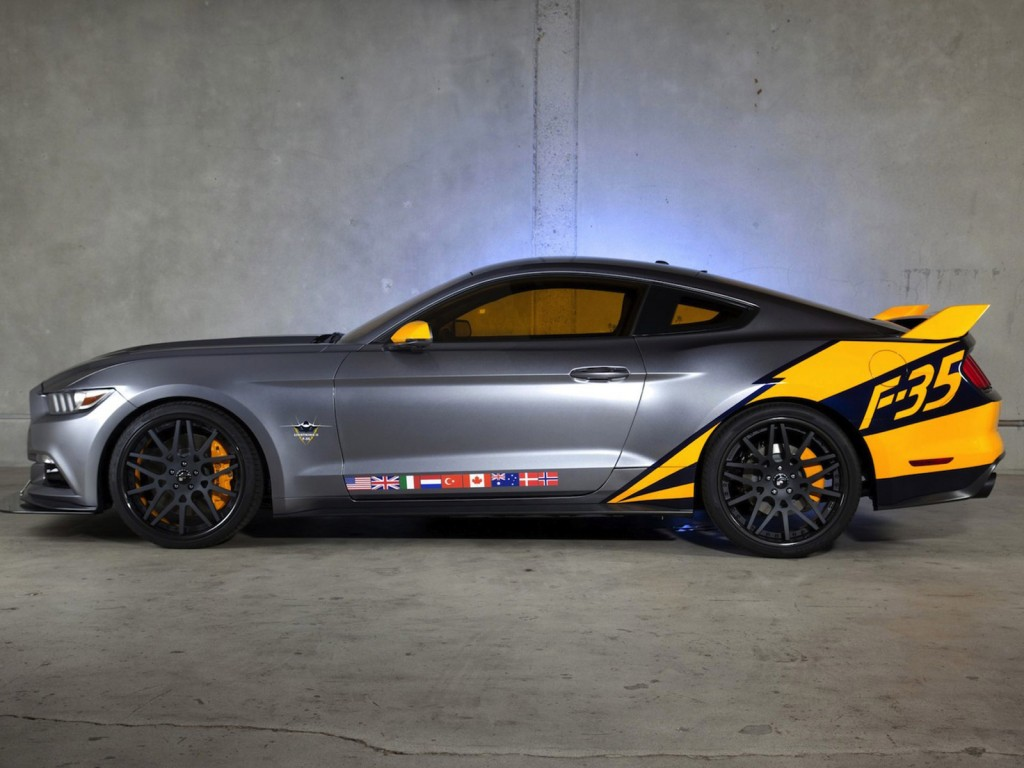 2015 Ford Mustang Inspired By F-35 Jet Revealed At 2014 EAA AirVenture