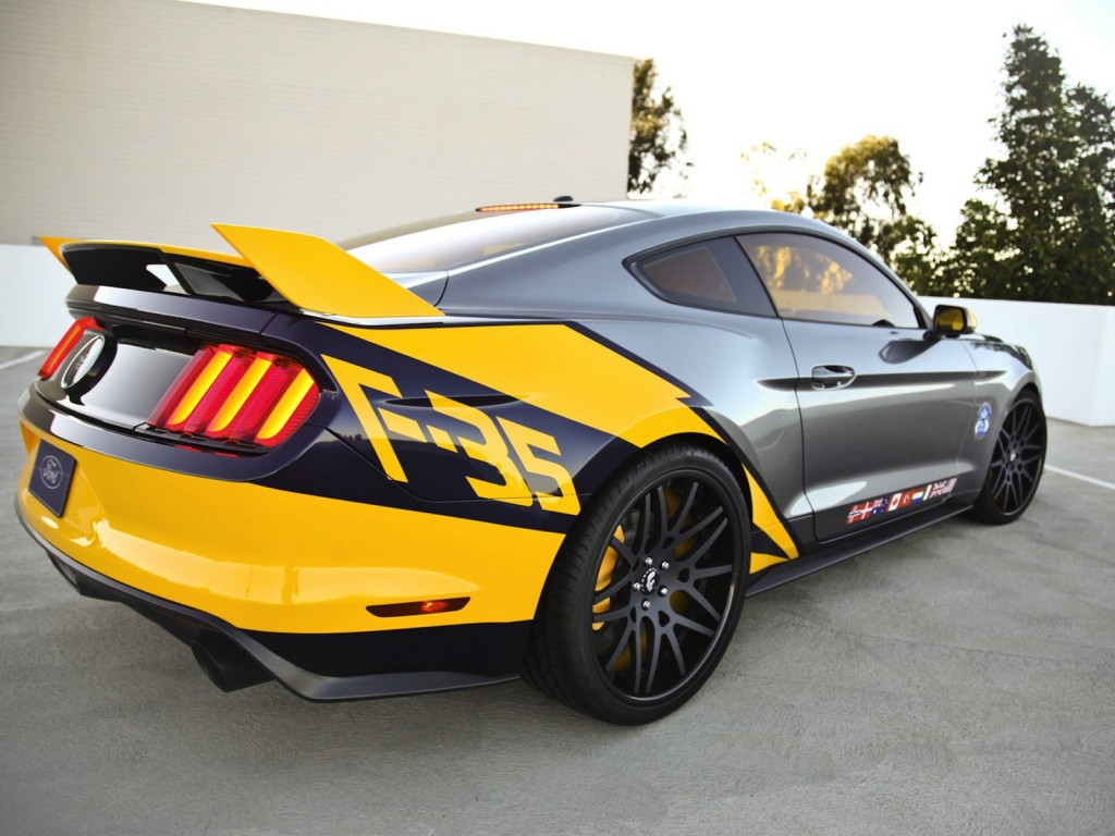 Image: 2015 Ford Mustang F-35 Lightning II, size: 1024 x 768, type