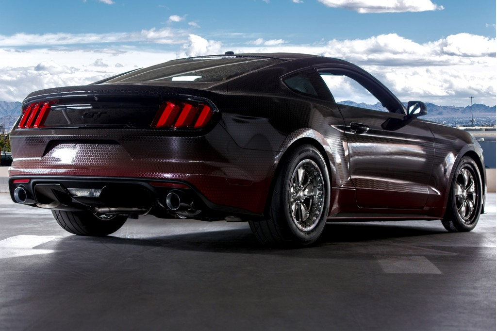 Image: 2015 Ford Mustang King Cobra by Ford Racing, 2014 SEMA show