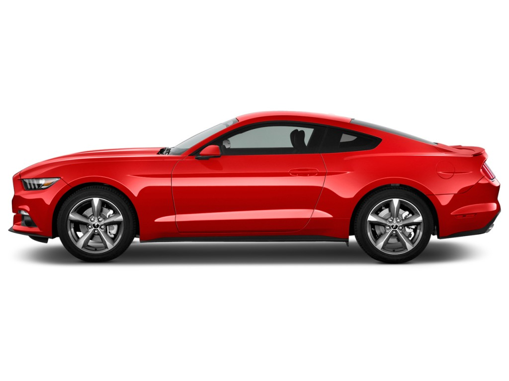 2015 ford mustang side exterior view. Black Bedroom Furniture Sets. Home Design Ideas
