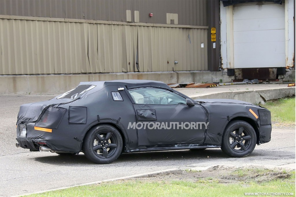 2015 Ford Mustang Spy