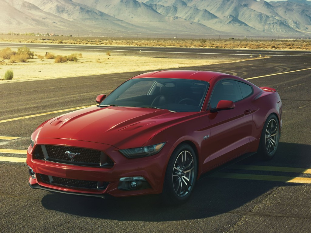 2015 ford mustang revealed with first 4 cylinder since 1993 photos. Black Bedroom Furniture Sets. Home Design Ideas