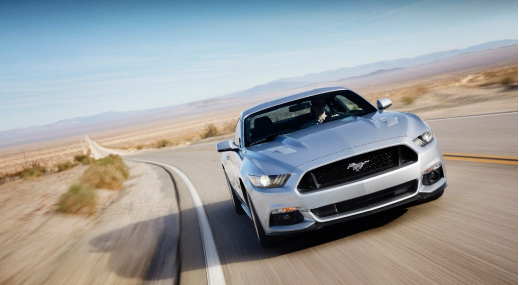 first 2015 ford mustang gt to be sold at auction. Black Bedroom Furniture Sets. Home Design Ideas