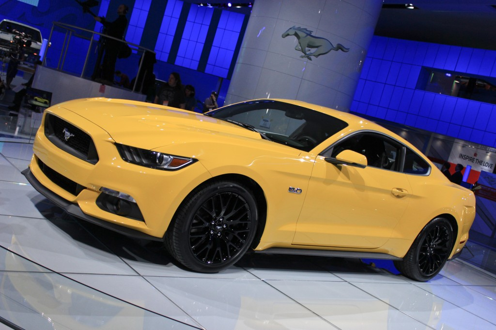 2015 Ford Mustang Video 2014 Detroit Auto Show