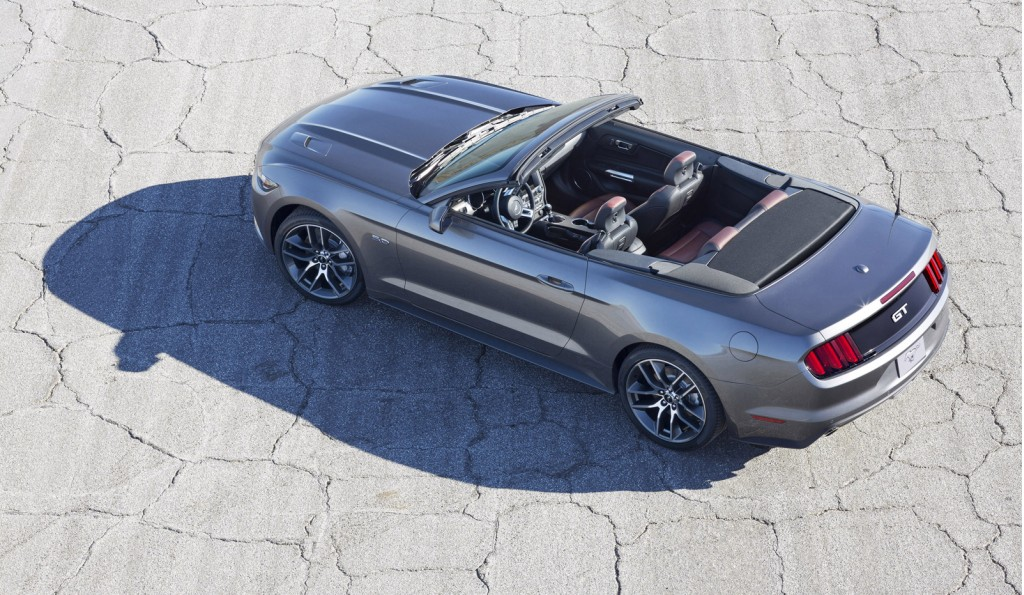 2015 ford mustang convertible new details photos and video. Cars Review. Best American Auto & Cars Review