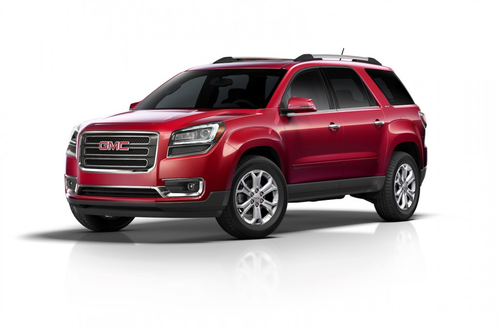 2015 gmc acadia pictures photos gallery motorauthority. Black Bedroom Furniture Sets. Home Design Ideas