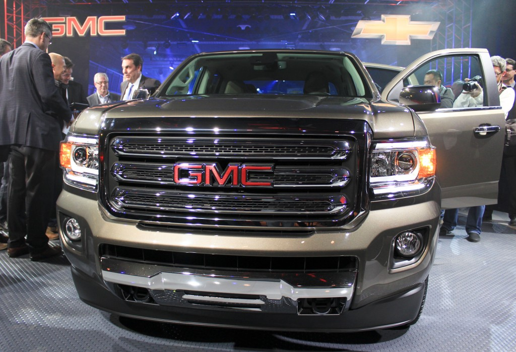 2014 gmc canyon release autos weblog. Black Bedroom Furniture Sets. Home Design Ideas